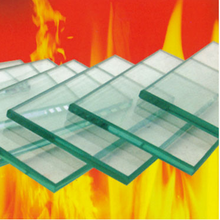 High quality toughened glass rates fire proof glass