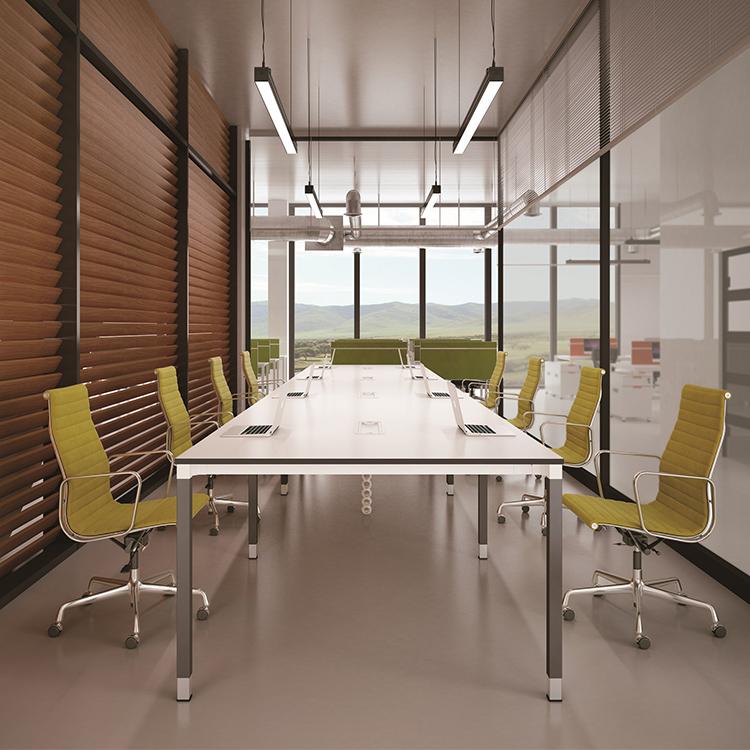 Venta al por mayor mesas de reuniones para oficinas-Compre online ...
