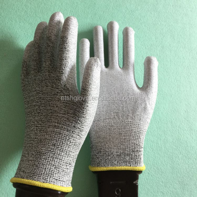 Top grade High Performance cut resistant gloves level 5