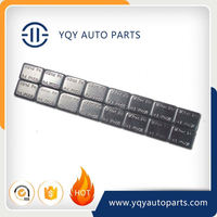 Top Quality Black Fe Adhesive Automotive Wheel Weights sale