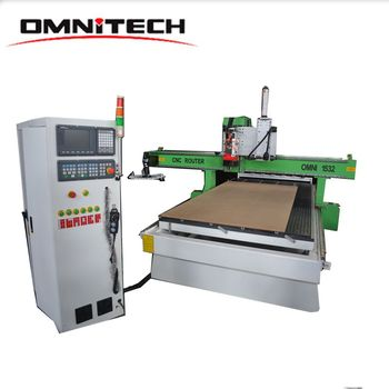 Low Price ATC Cnc Router For Wood Round Rotating Beds 1530
