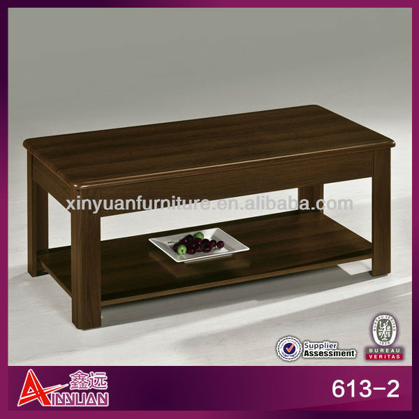 613-2 Classic Design Cheap Wooden Center Table Design