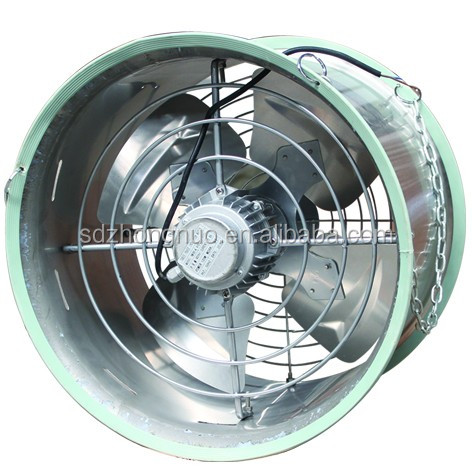 Axial poultry house tunnel ventilation fan for husbandry greenhouse agriculturial