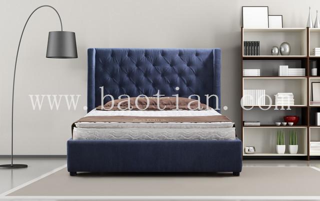 Modern Bedroom Furniture 2015 2015 new design fabric kd bed frame hoel modern bedroom furniture