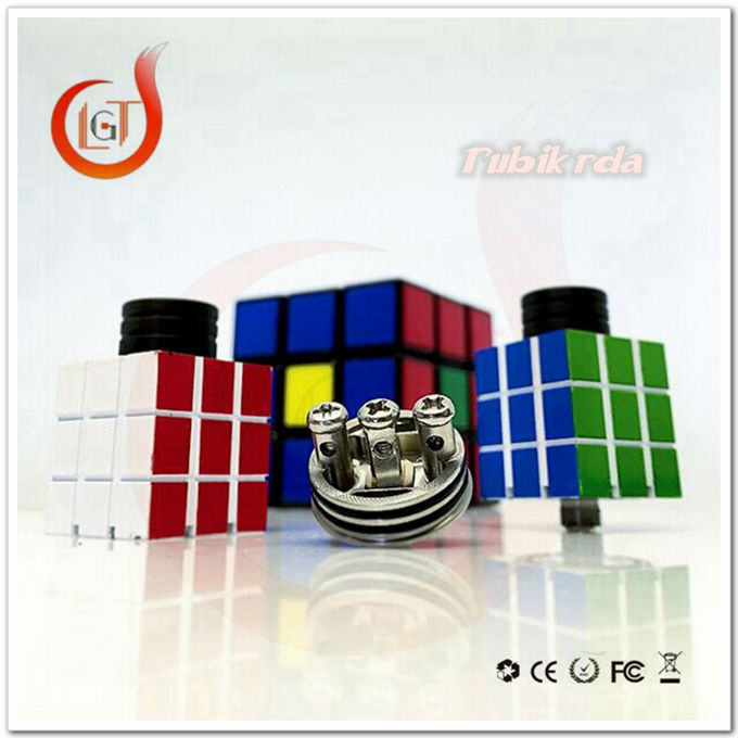 Magic Cube Rda 1:1 Clone Square Rubik Rda Atomizer With Air From ...