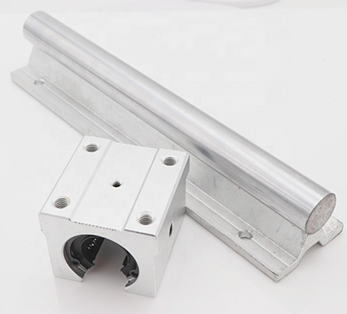 China supplier linear guide 2x SBR13 1meter 13mm linear rail shaft+13MM support+ <strong>4</strong> open kind pillow blocks SBR13UU