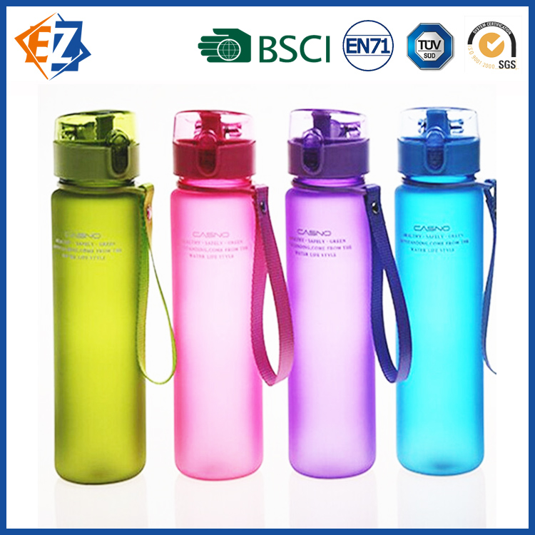 Creative Candy Frosted Plastic Bottle for Sport and Advertising