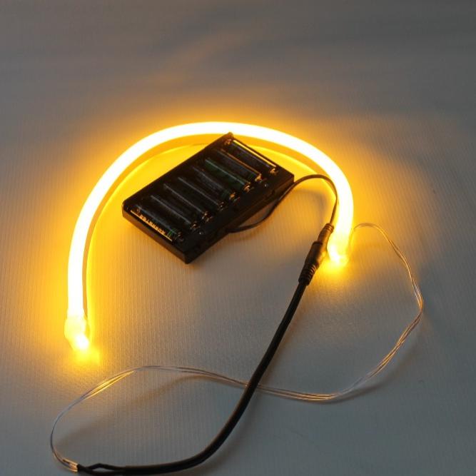 Best Ing Dimmable Led Rope Light 12v Aa Battery Ed 5v 2m Neon Lights