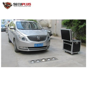 color camera Car Security Checking intelligent vehicle undercarriage scanner with DVR to record video