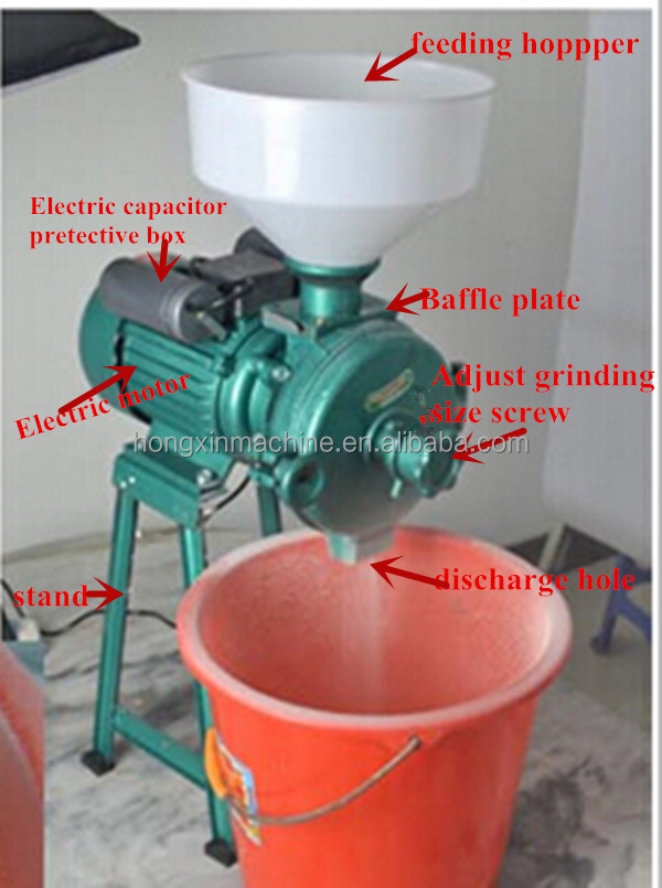 Small Cnc Mill >> Small Electric wet or dry grain grinder rice mill machinery price for home, View rice mill ...