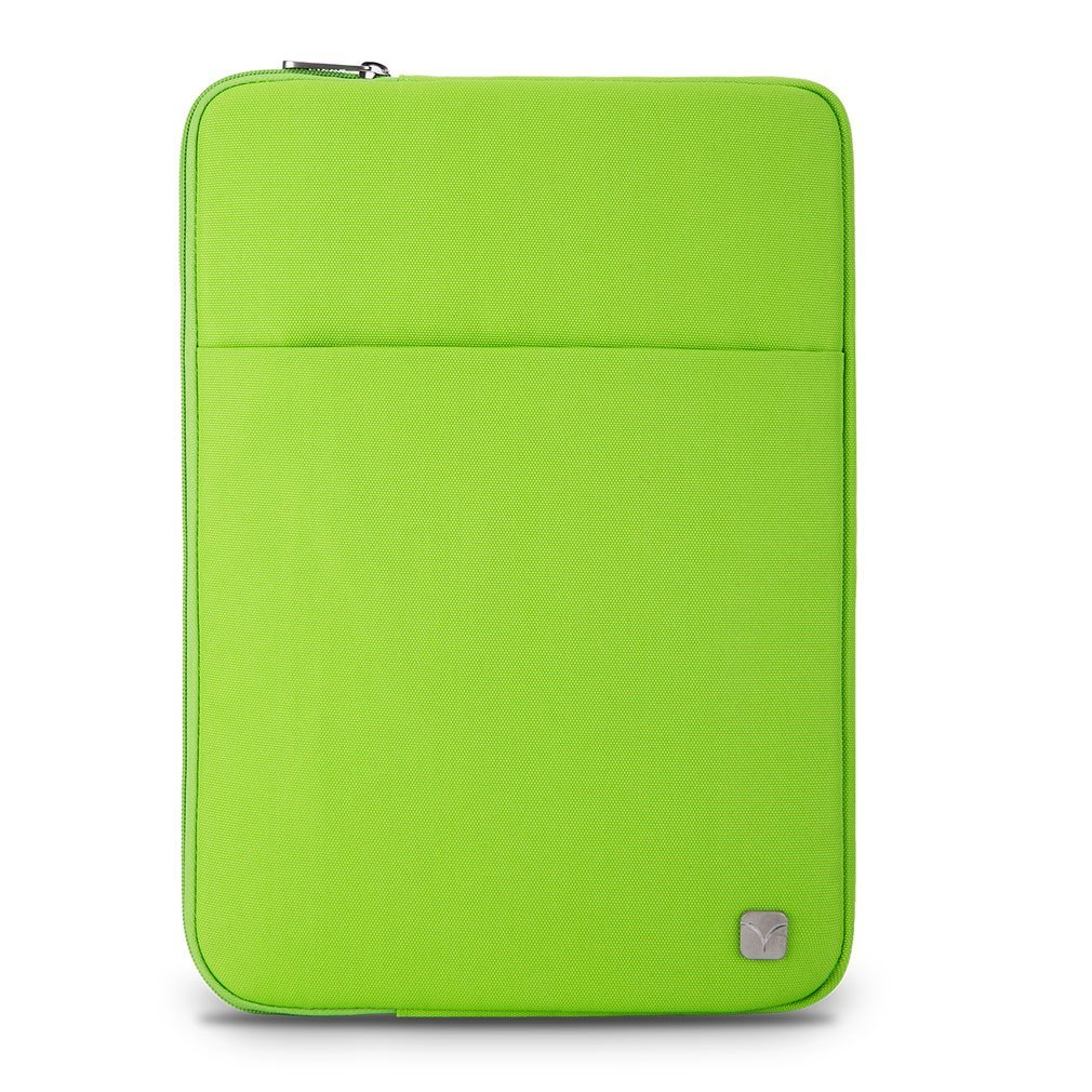 """Caison Green 10 inch Tablet Laptop Notebook Sleeve Case Carrying Bag Portable Comfort Pouch Protective Skin Cover for Apple 9.7"""" iPad Pro / 9.7"""" iPad Air / Air 2"""
