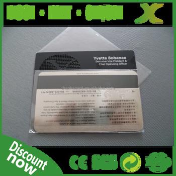 304 Edelstahl Billig Schwarz Matt Metall Karte Blank Metall Magnetstreifenkarte Laser Ausgeschnitten Metall Visitenkarte Buy Brauch Billige Metall