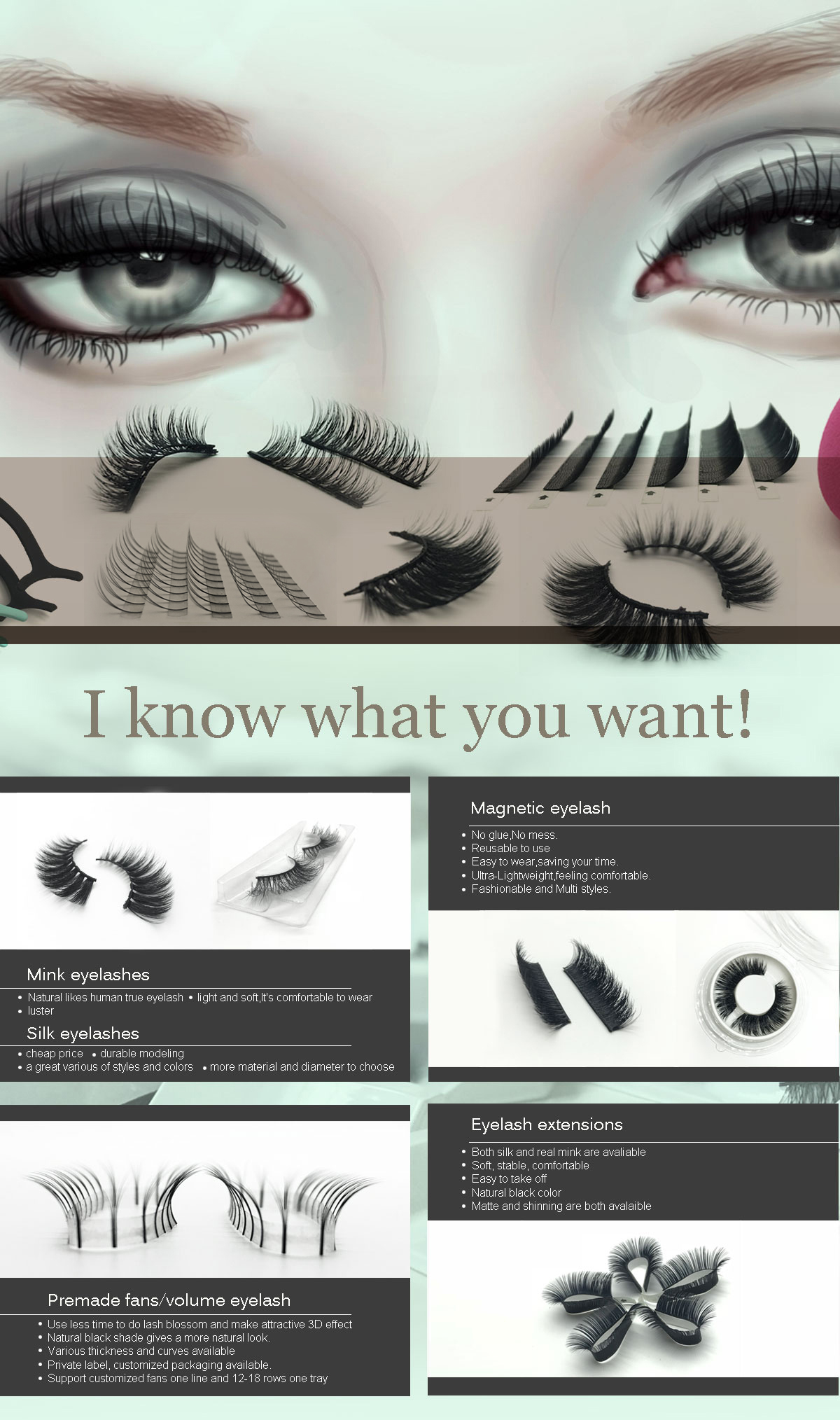 dafa2601a66 Xi'an Chulan E-Commerce Co., Ltd. - Fake eyelashes, Mink eyelashes