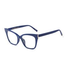Iboode Ретро мода кошачий глаз оптические прозрачные очки для женщин и мужчин очки для чтения оправа ультра светильник близорукость очки фирм...(Китай)