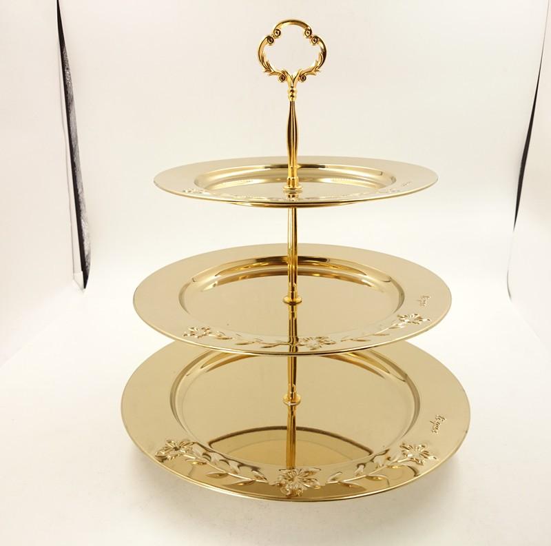 China metal tiered cake stand wholesale 🇨🇳 - Alibaba