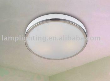 simple lampe de plafond pour salle de bains et balcon ip20. Black Bedroom Furniture Sets. Home Design Ideas