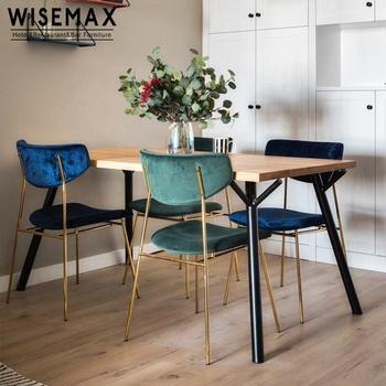 Modern Restaurant Design Soft Blue Velvet Chair Leisure Dining Room Gold Metal Frame Fabric Dining Chair Buy Metal Dining Chair Velvet Dining Room Chair Fabric Dining Chair Product On Alibaba Com