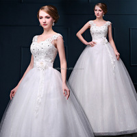 ladies lace wedding dress heavy beading wedding dresses Beach Wedding Dress