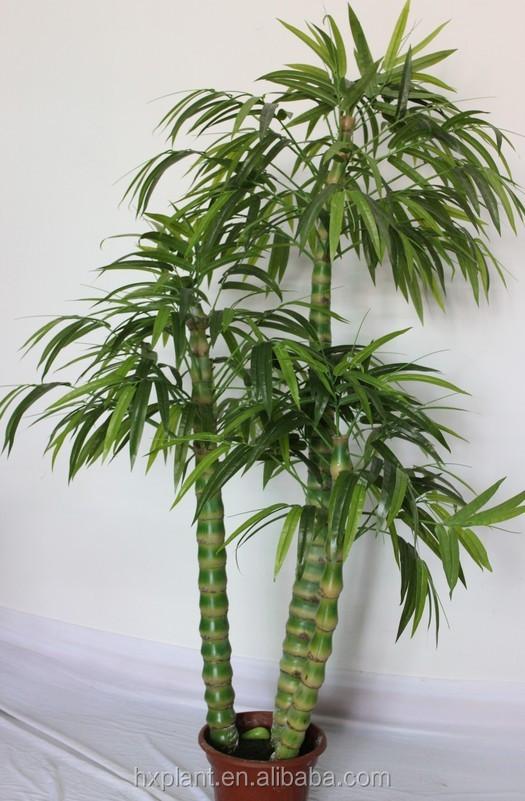 petit artificielle simulation de bambou bambou bambous plante faux plantes avec pot artificielle bonsa - Grande Plante Exterieur En Pot