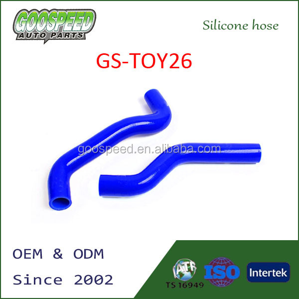 Silicone radiator hose for Suzuki Mk1 2 PCS 83-
