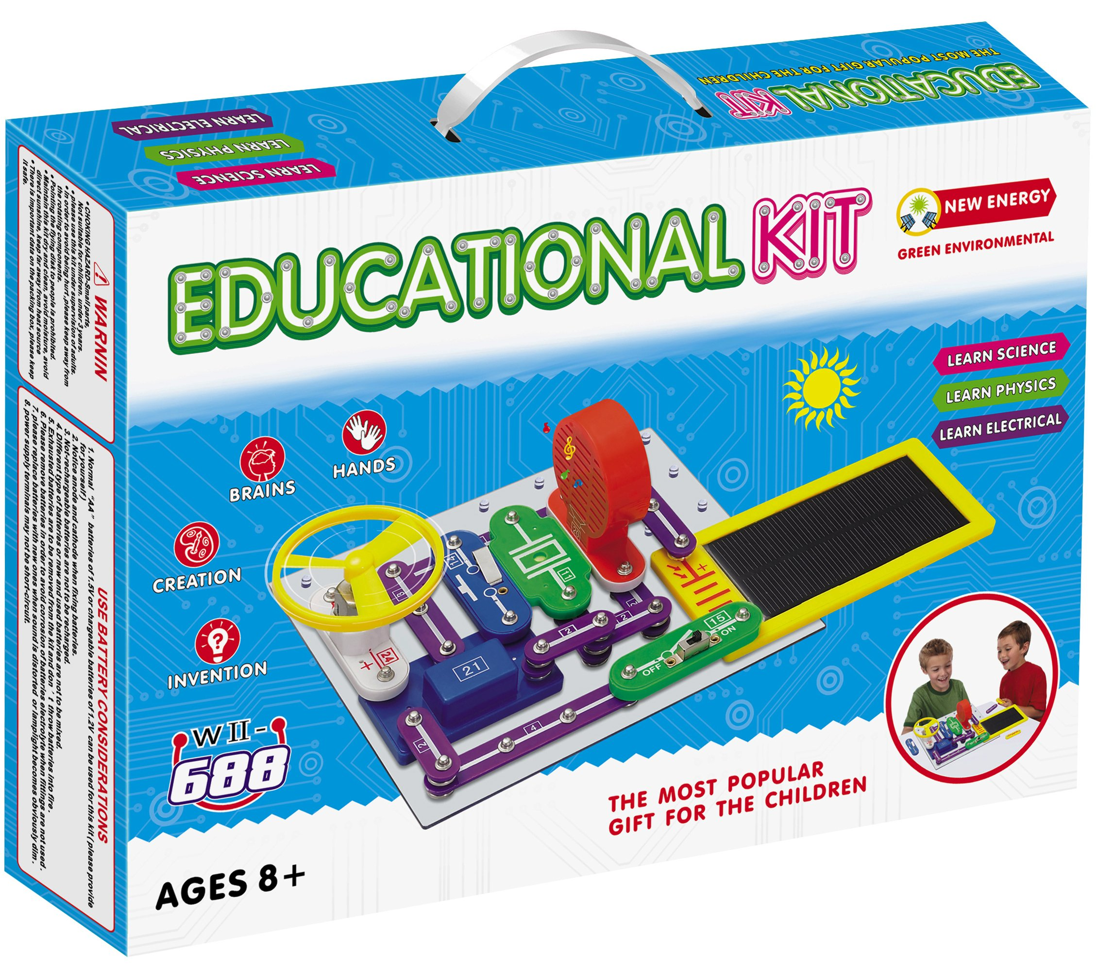 Cheap Kids Science Experiments Find Deals Electronic Circuit Toy Kit Get Quotations Liyic Diy Build 1000 For Kidssolar Circuits Kidshand Crank