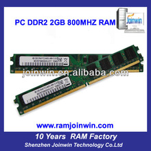 Tested full compatible ddr2 2gb ram mobile phones