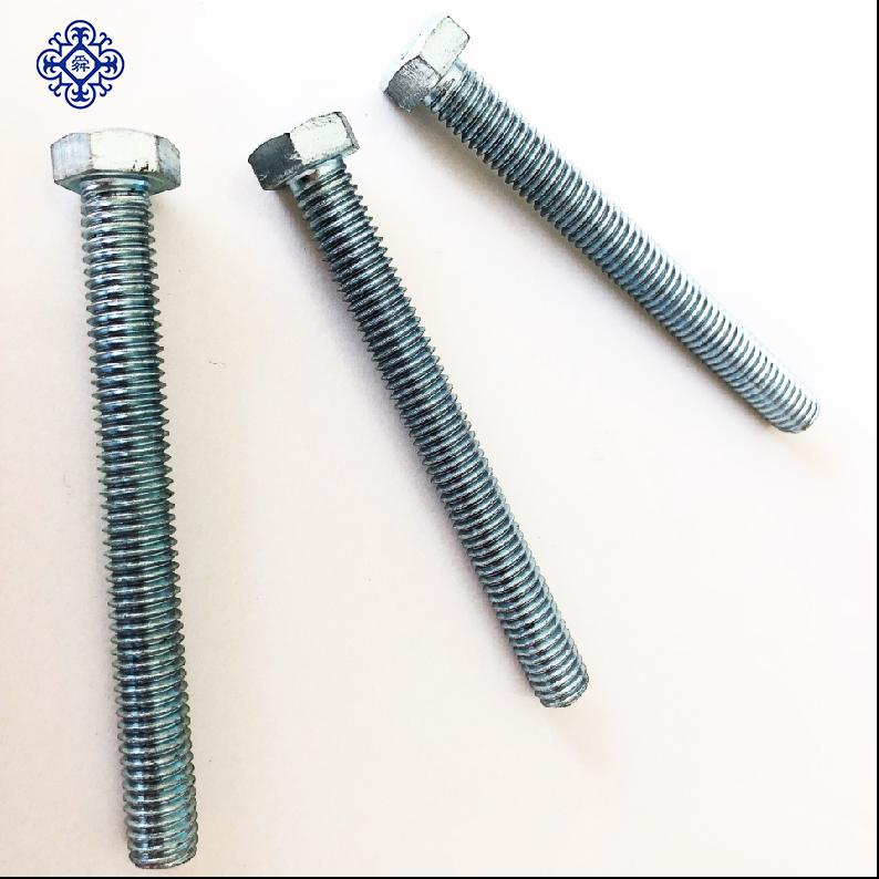 5//8-11 x 3 1//2 A307 Grade A Square Head Machine Bolt Low Carbon Steel Hot Dip Galvanized Pk 50