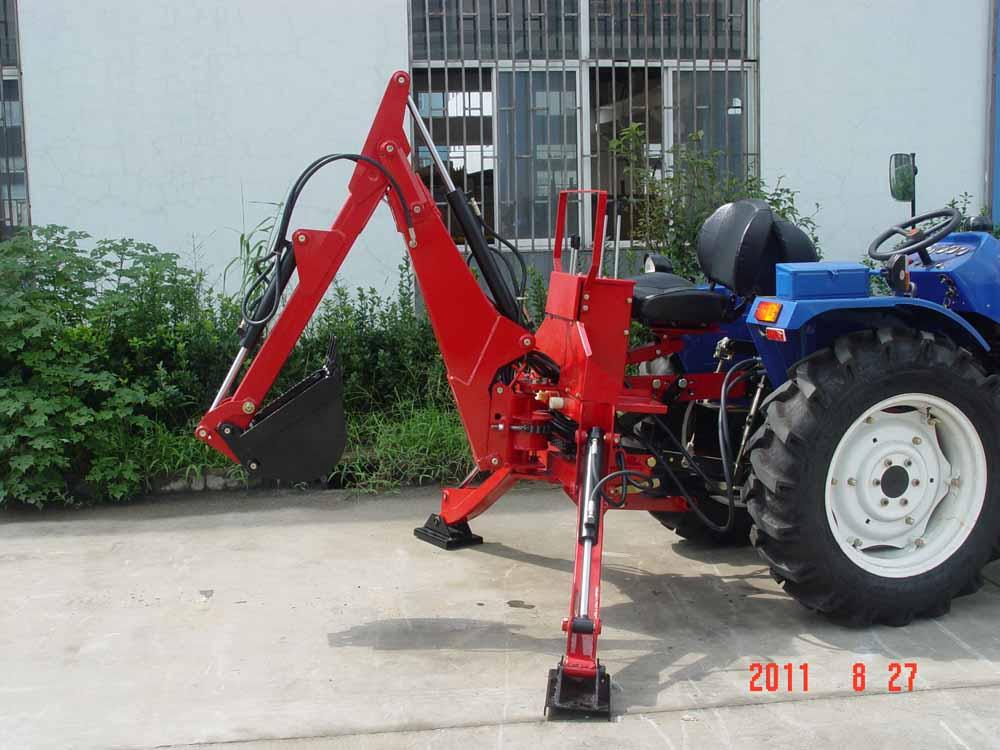 เกษตรกร Helper รถแทรกเตอร์ PTO backhoe excavator BK7.5N