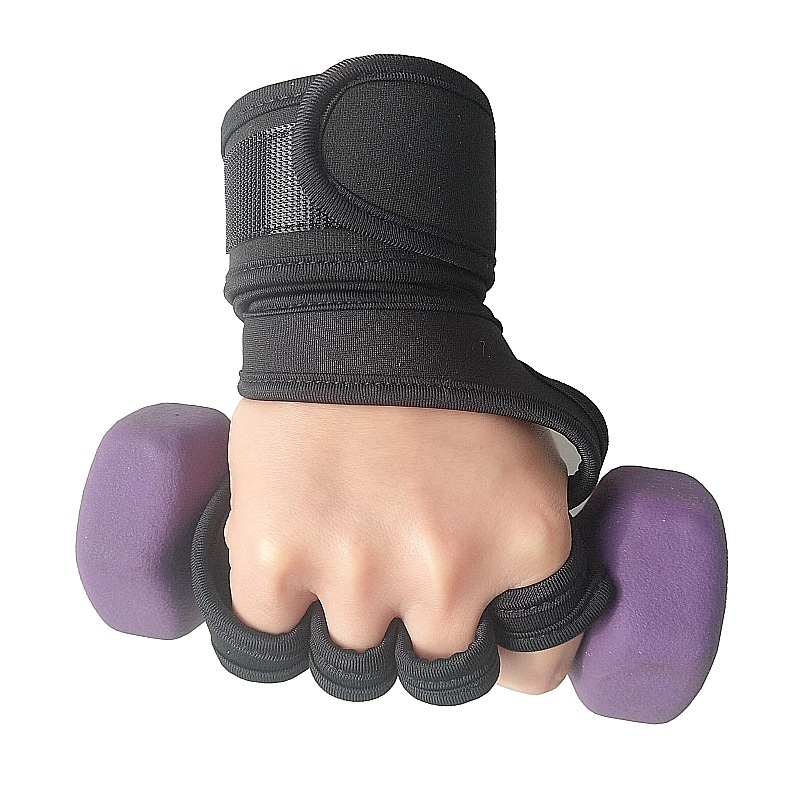 Anti Slip Gel Polssteun Wrap Gewichtheffen Workout Fitness Gym Handschoenen Voor Body Building