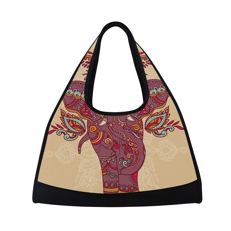 AHOMY Paisley Messenger Bag Small Travel School Sling Bag Crossbody Bag
