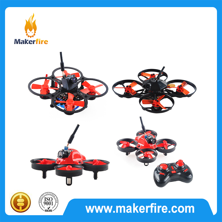 Building Block Quadcopter DIY Bricks Mini Drones Toys For Kids Rc Assembled Model
