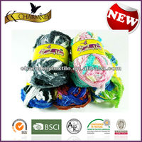 Various mixed color tape fancy yarn with good quality at cheap price