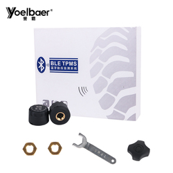 Bluetooth TPMS for Motorcycles With 2 External Sensor