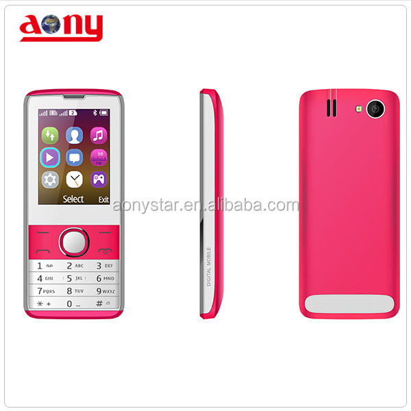 2.4inch new arrival mobile phone two led flash light dual sim very cheap cellphone with whatsapp