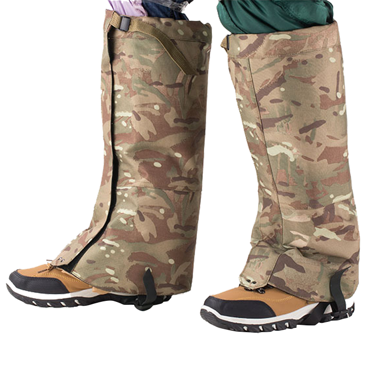 Waterproof Gaiters Army Camo Country Walking Hiking Military Hunting Outdoor Sporting Goods Camping & Hiking