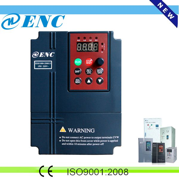 CE and ISO approve Sensorless Vector Frequency Inverter / converter AC drive