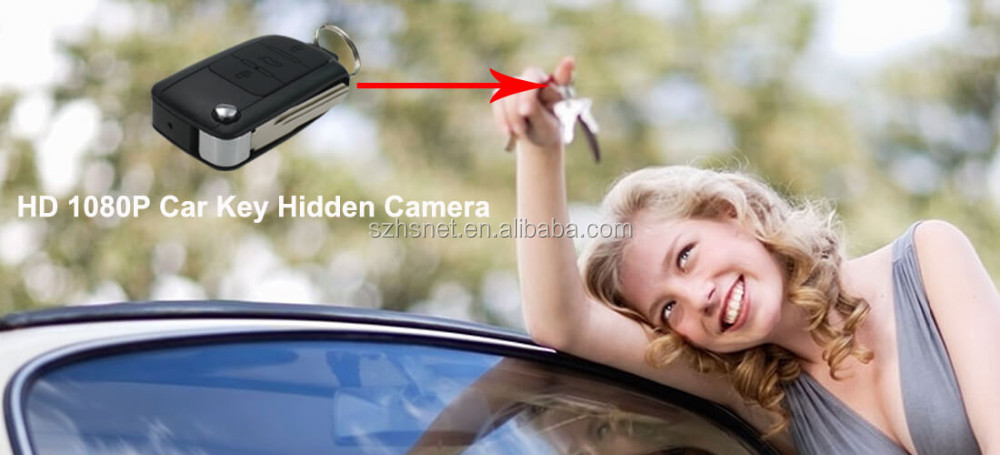Hd 1080p Emulational Car Key Wireless Hidden Mini Micro Camera ...