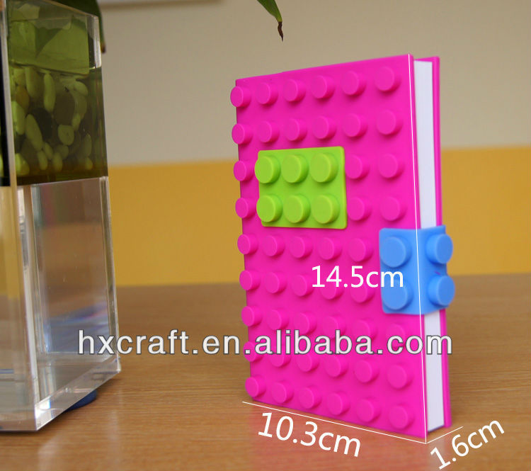 All Range Size Blocks Notebook/ Silicon Book Cover/Silicone Notebook With Block Design