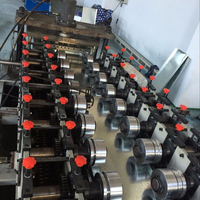 Customize supermarket shelf panel roll forming machine