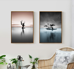 Mofang Mural High Quality Wholesale Low Price Seascape Scenery Canvas Painting Manufacturer in China