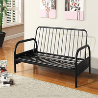 Metal Folding Sofa Bed Frame Futon Sofa Bed Iron Bed Home Furniture