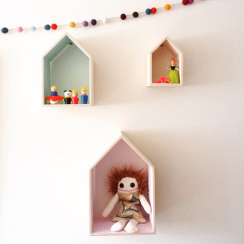 House Shaped Floating Shelf For Kids Room Buy House Shaped Floating Shelfwall Mounted Shelveswooden Wall Shelf Product On Alibabacom