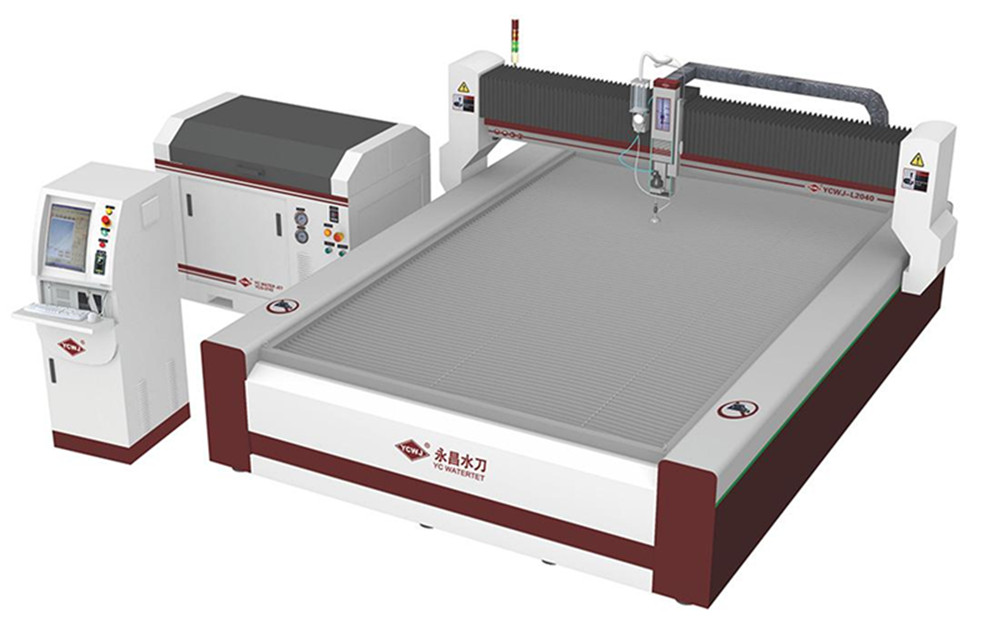 China hot selling high quality small mining desktop waterjet cutting <strong>machinery</strong> for natural stone carpet