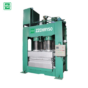 High productive wood sawdust pallet moulding machine