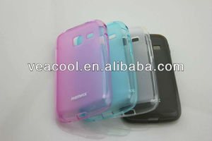 Soft TPU Silicone Gel case for Samsung Gaiaxy Y Duos S6102