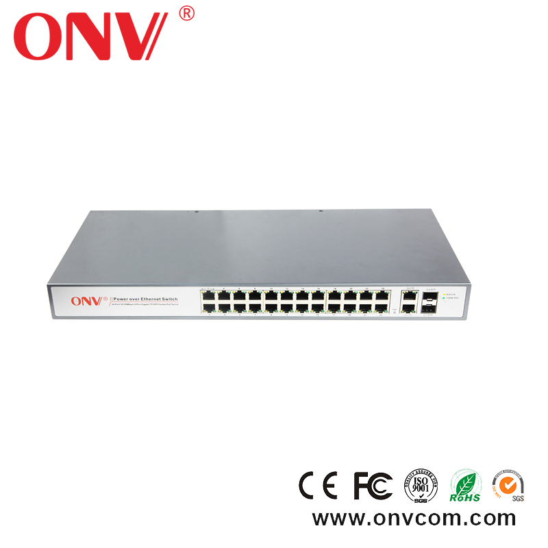 8 Port Gigabit Ethernet PoE Switch with 4 Port PoE/802.3at/af popular in russia Italy Finland Poland USA