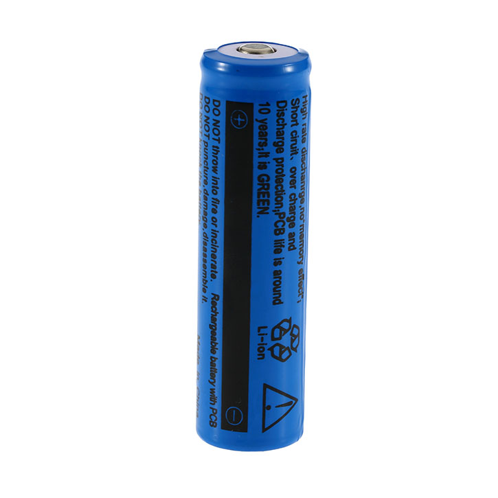 UltraFire 18650 3.7V Rechargeable Lithium Battery 3800mAh Blue li-ion battery 18650