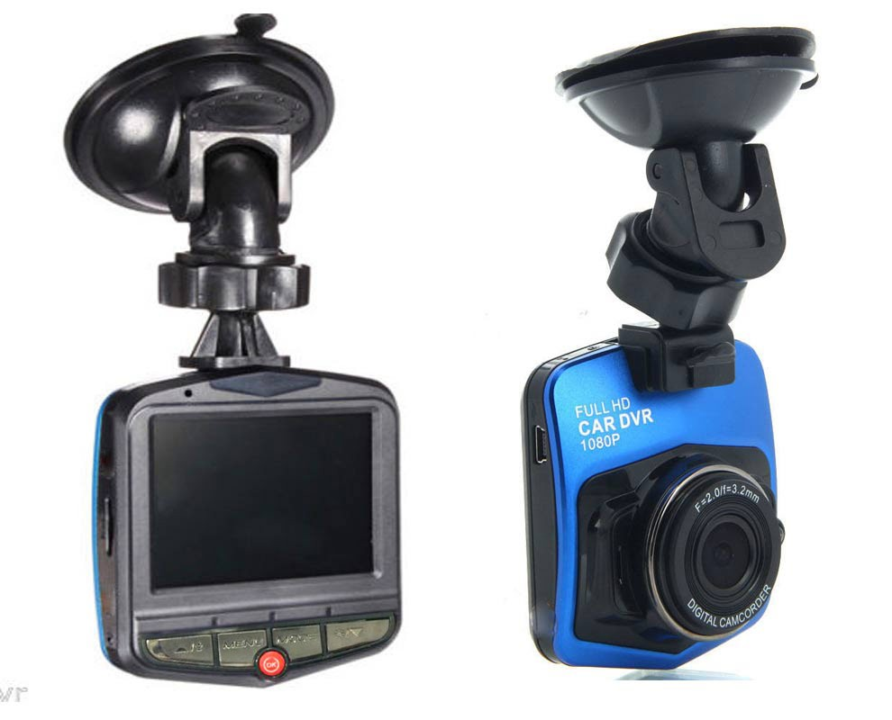 Black Blue Interpolated 1080P Car dash cam For Car