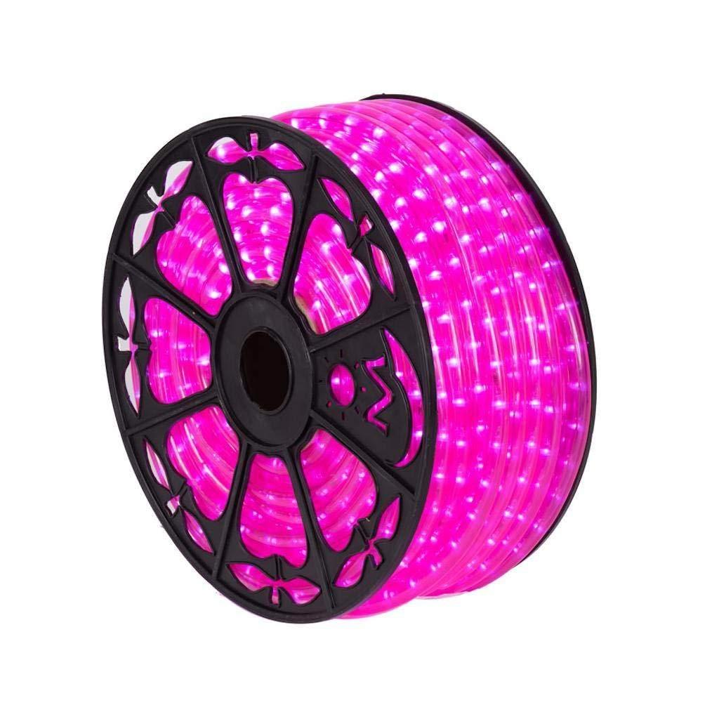 "Vickerman 521366-150' x .5"" Pink LED Rope Light"