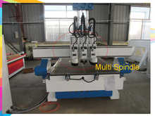 multi spindle 3d cnc router 3 Axis Control Motor cnc wood carving machine / China cnc router machine